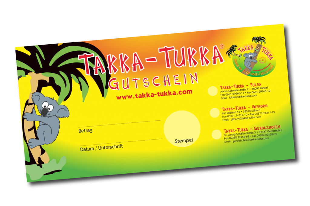 Takka-Tukka Abenteuerland Gutscheine
